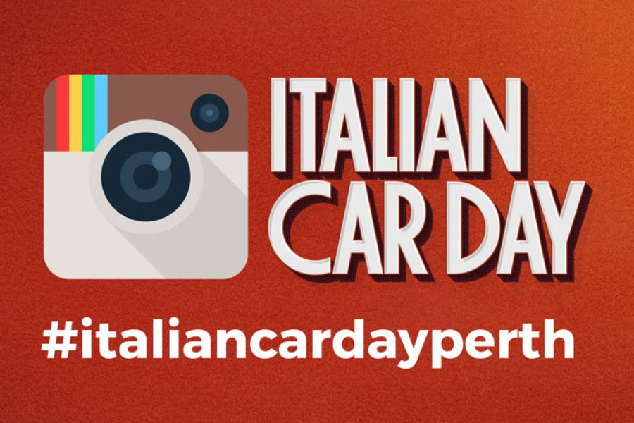 """INSTAGRAM COMPETITION AT THE """"ITALIAN CAR DAY"""""""